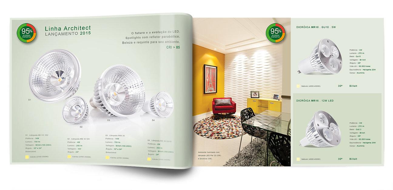 design gráfico catálogo de produtos