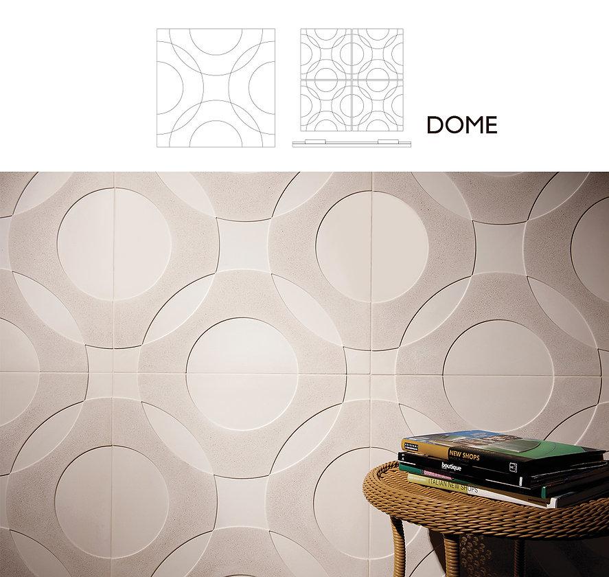 design revestimento dome palazzo pisos e revestimentos