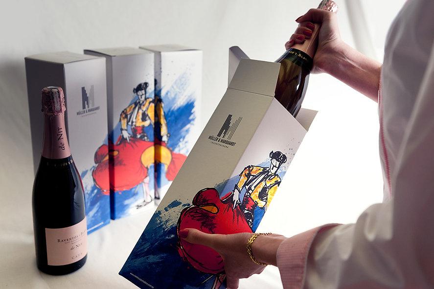 design de embalagem para muller e marquardt
