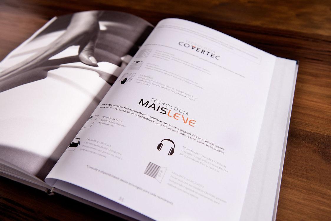 Catálogo de produtos e técnico para Palazzo Revestimentos