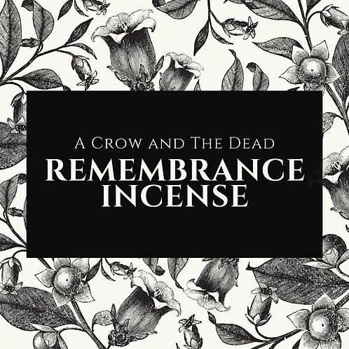 Remembrance Incense
