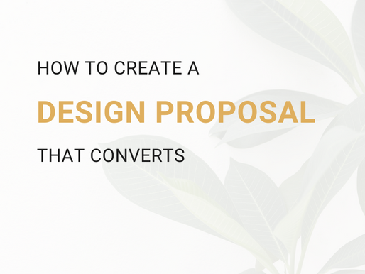 How To Create A Design Proposal That Converts