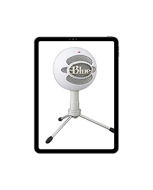 Blue Snowball Microphone Mockup.png