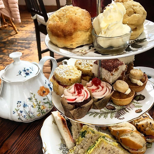 Sun 14th March  Afternoon Tea Delivery (within GGC)