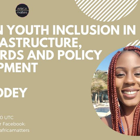 Including Young African Voices in Tech Policy with Uffa Modey