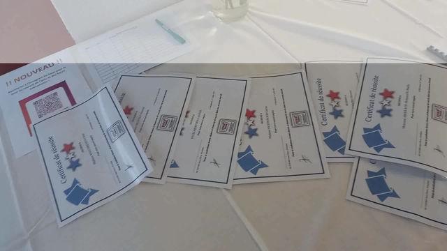 Première remise de certificats de réussite pour YMCA Villeurbanne