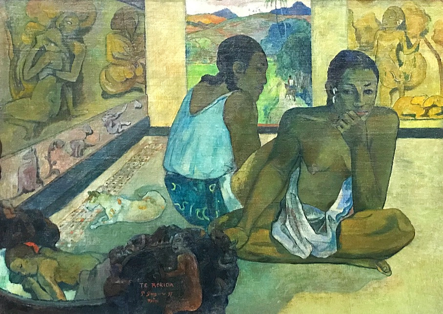 Paul Gauguin, Te Rerioa (The Dream), 1897, The Courtauld Gallery, London.