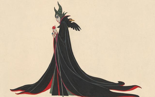 Marc Davis, Maleficient from Sleeping Beauty, 1959