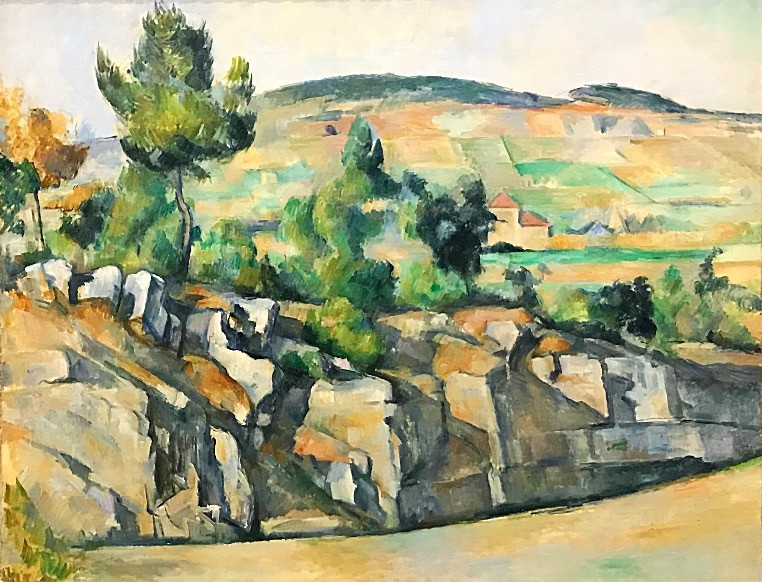Paul Cézanne, Hillside in Provence, c. 1890-2, National Gallery