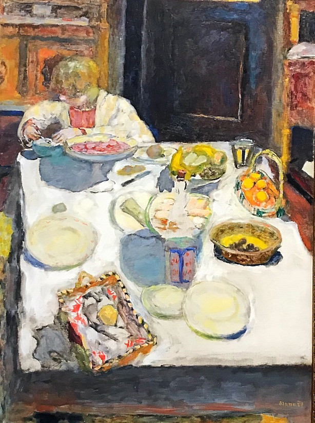 Pierre Bonnard, The Table, 1925, National Gallery, London