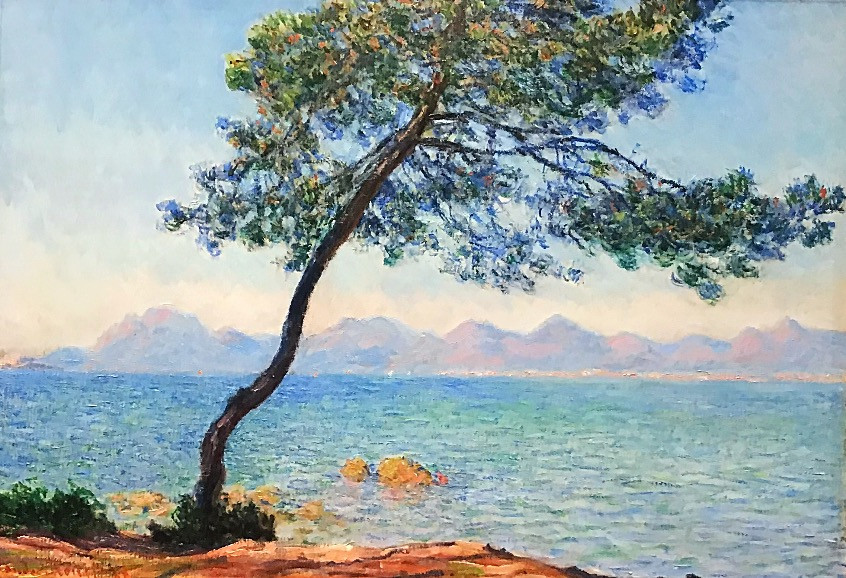 Claude Monet, Antibes, 1888, The Courtauld Gallery, London.