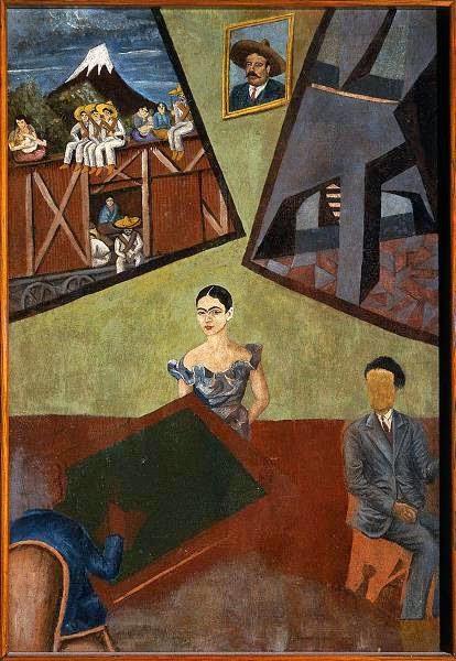 Frida Kahlo, La Adelita, Pancho Villa y Frida, 1927