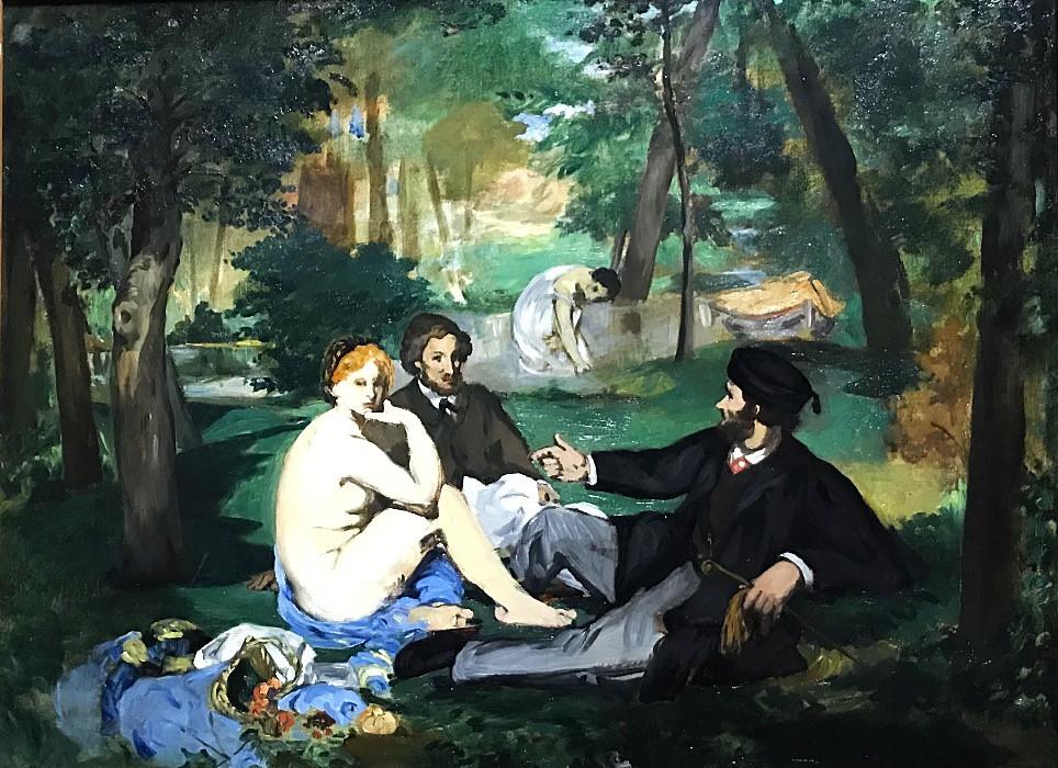 Édouard Manet, Déjeuner sur l'herbe, c. 1863-68, The Courtauld Gallery, London