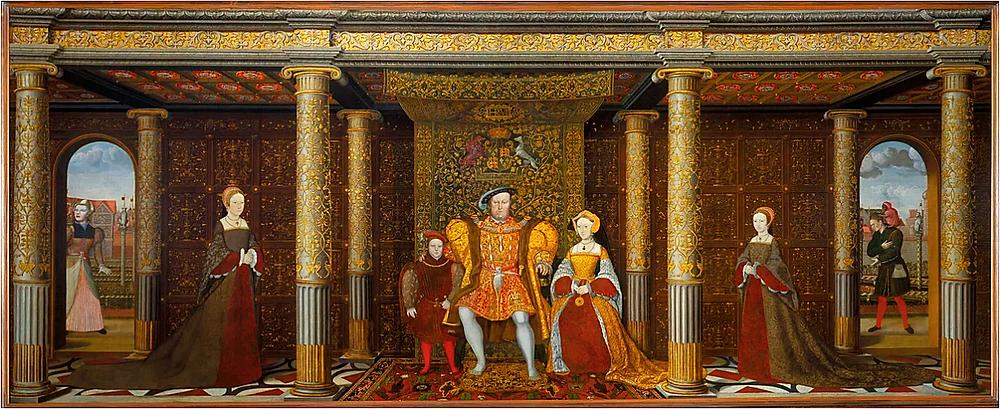 The Family of Henry VIII Hampton Court