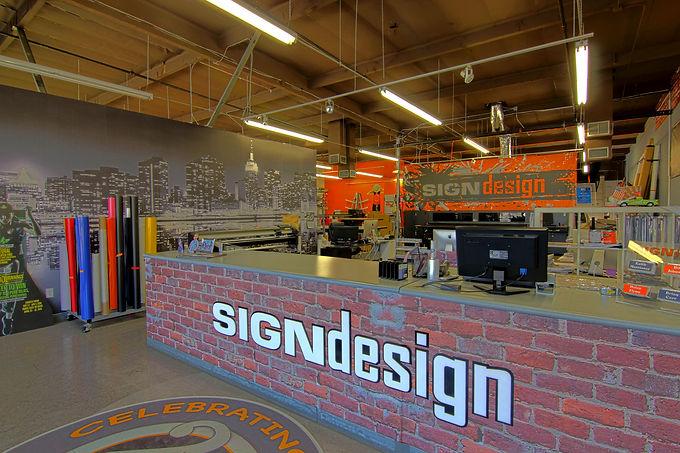 Sign Design OC