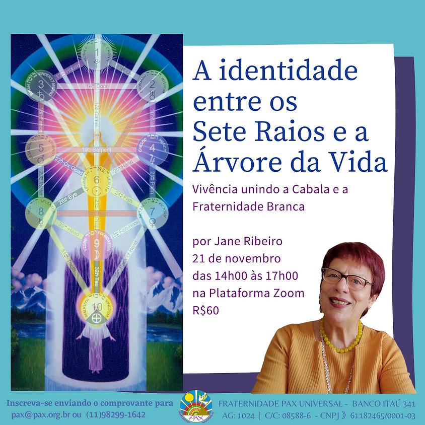 Vivência: A Identidade entre os Sete Raios e Árvore da Vida - com Jane Ribeiro