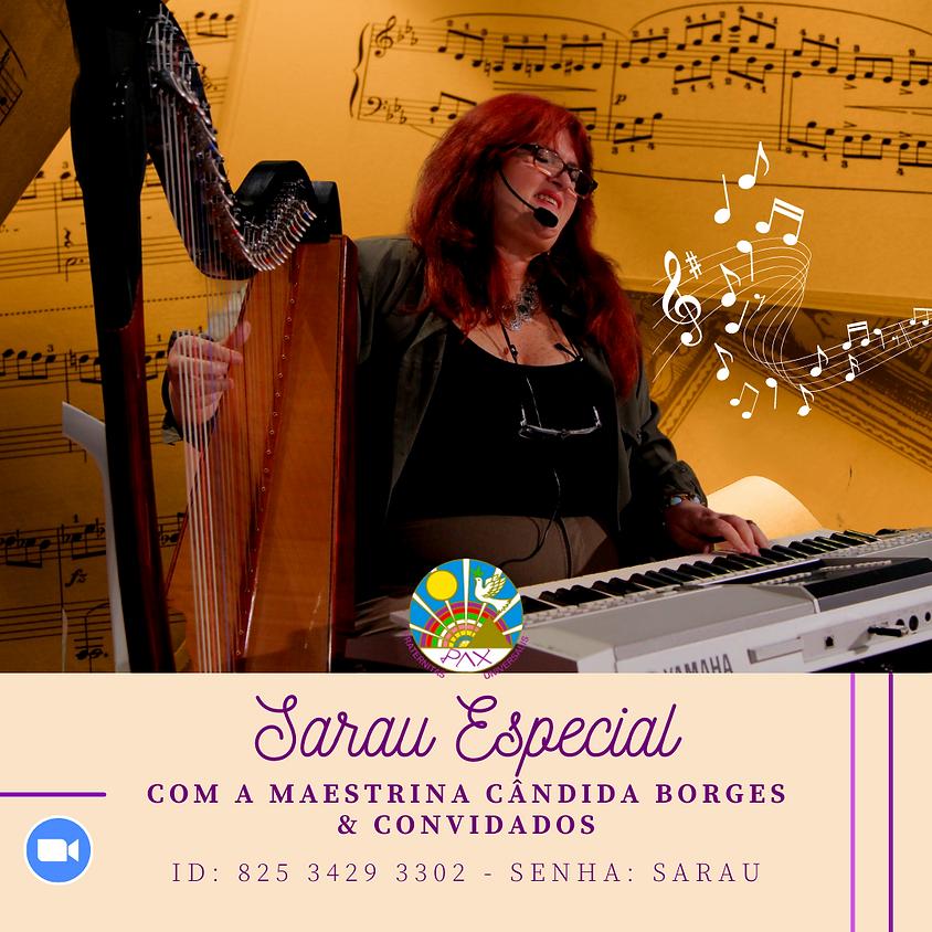 Sarau Musical com Cândida Borges & Convidados no Zoom