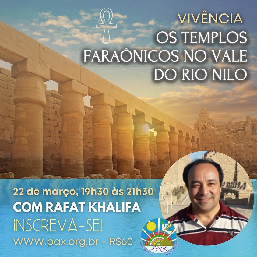 Os Templos Faraônicos No Vale Do Rio Nilo, com Rafat Khalifa