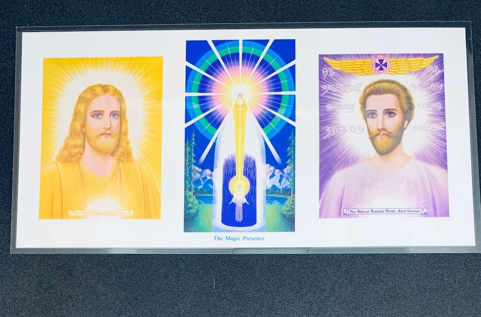 Mestre Jesus, Presença Eu Sou e Saint Germain