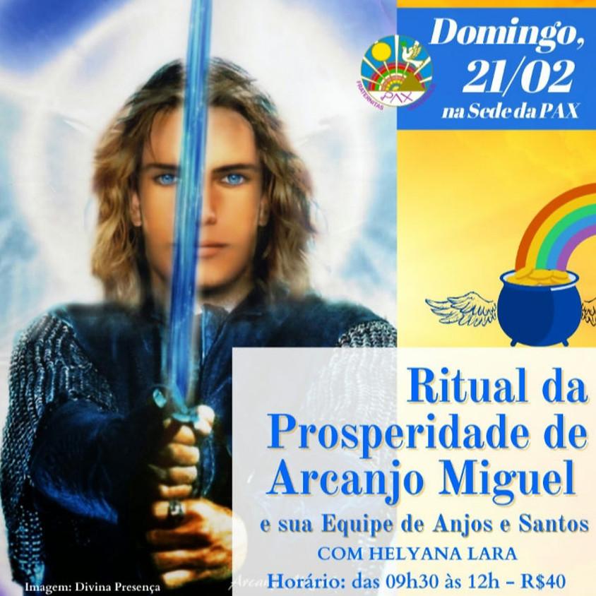 Ritual da Prosperidade de Arcanjo Miguel — com Helyana Lara