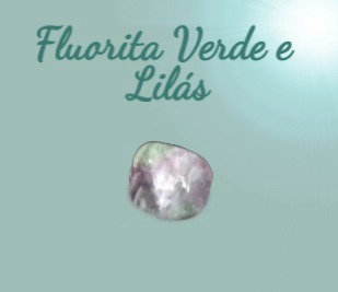 Fluorita Verde e Lilás