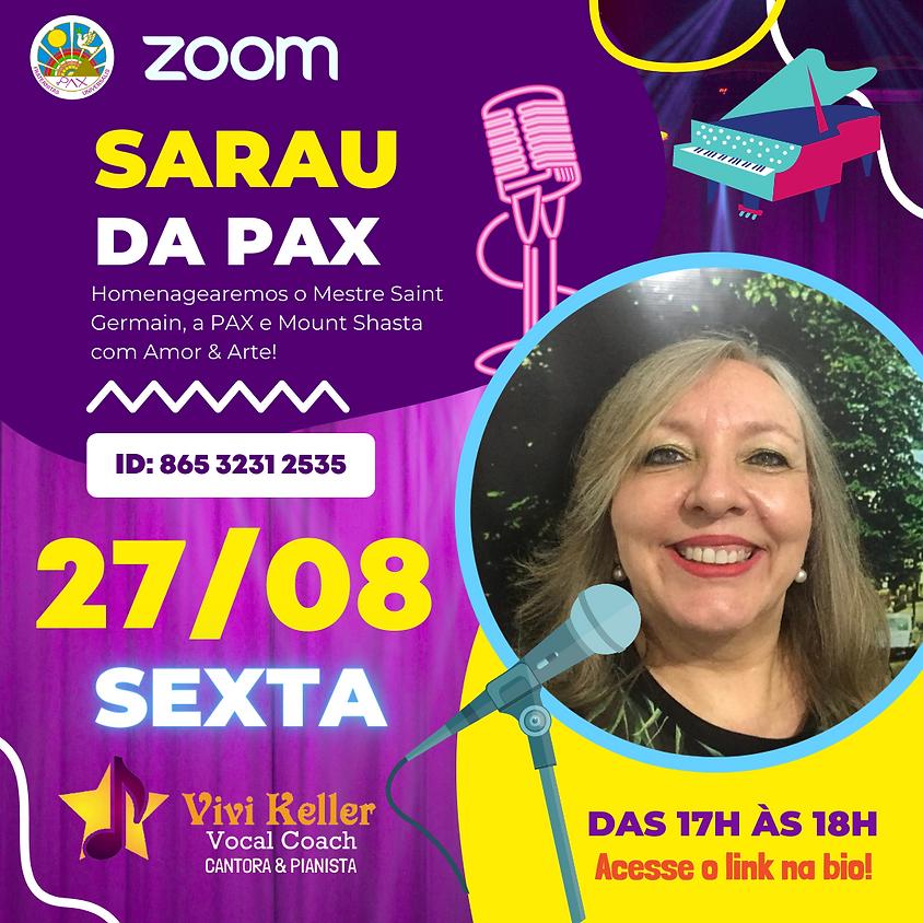 Sarau da PAX - por Vivi Keller & Convidados Especiais com Carmen Balhestero