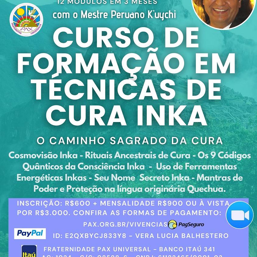 Curso de Formação em Técnicas de Cura Inka