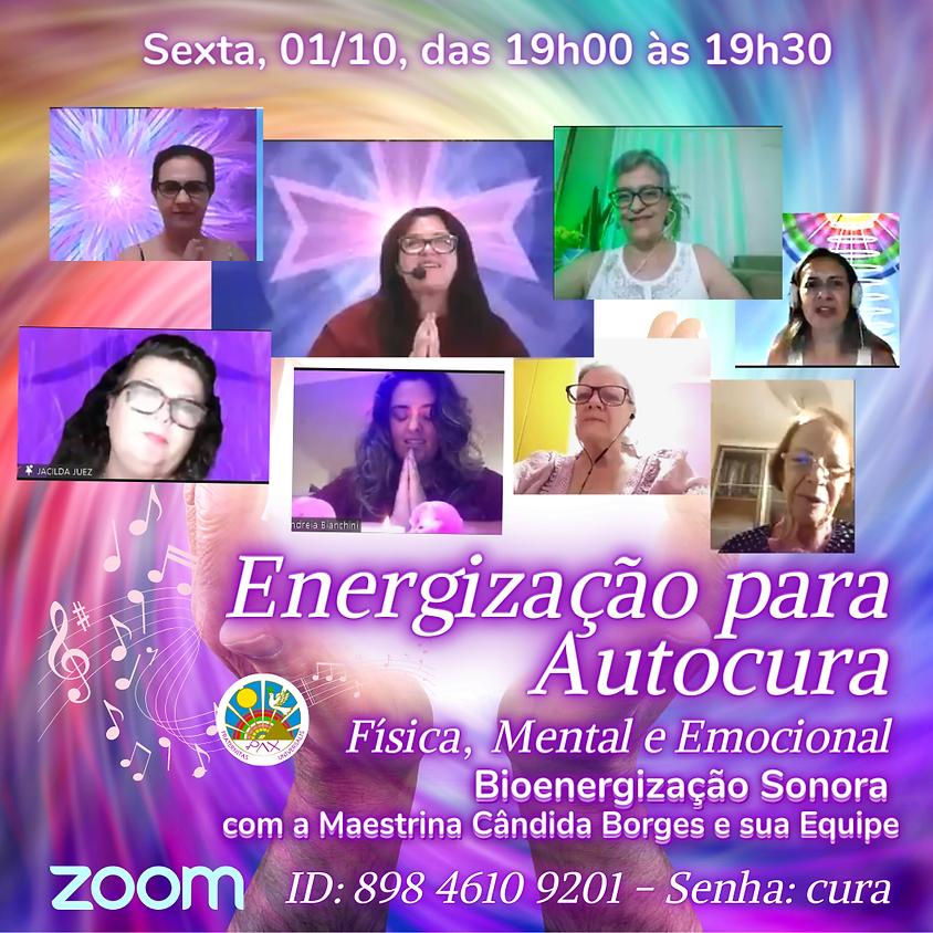 Energização de Autocura Física, Mental e Espiritual com Cândida Borges