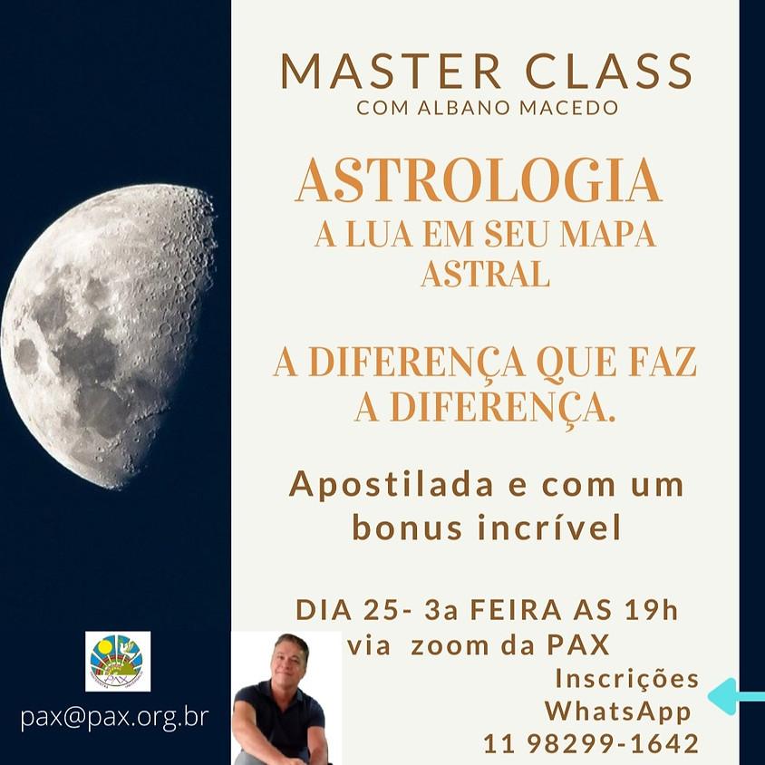 """Masterclass de Astrologia - """"LUA a diferença que faz a diferença"""" - com Albano Macedo"""