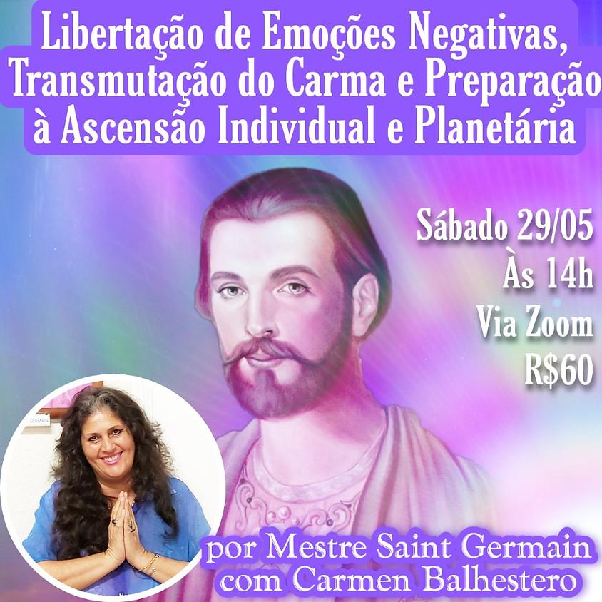 Libertação de Emoções Negativas - com Carmen Balhestero