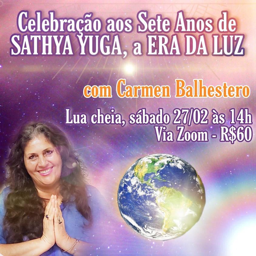 Celebração aos 07 anos de Sathya Yuga - Era da Luz