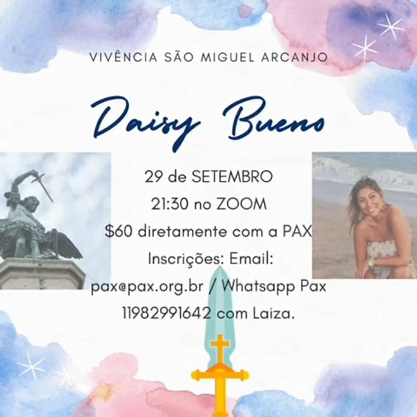 VIVÊNCIA DE ARCANJO MIGUEL ☆ com Daisy Bueno no Zoom