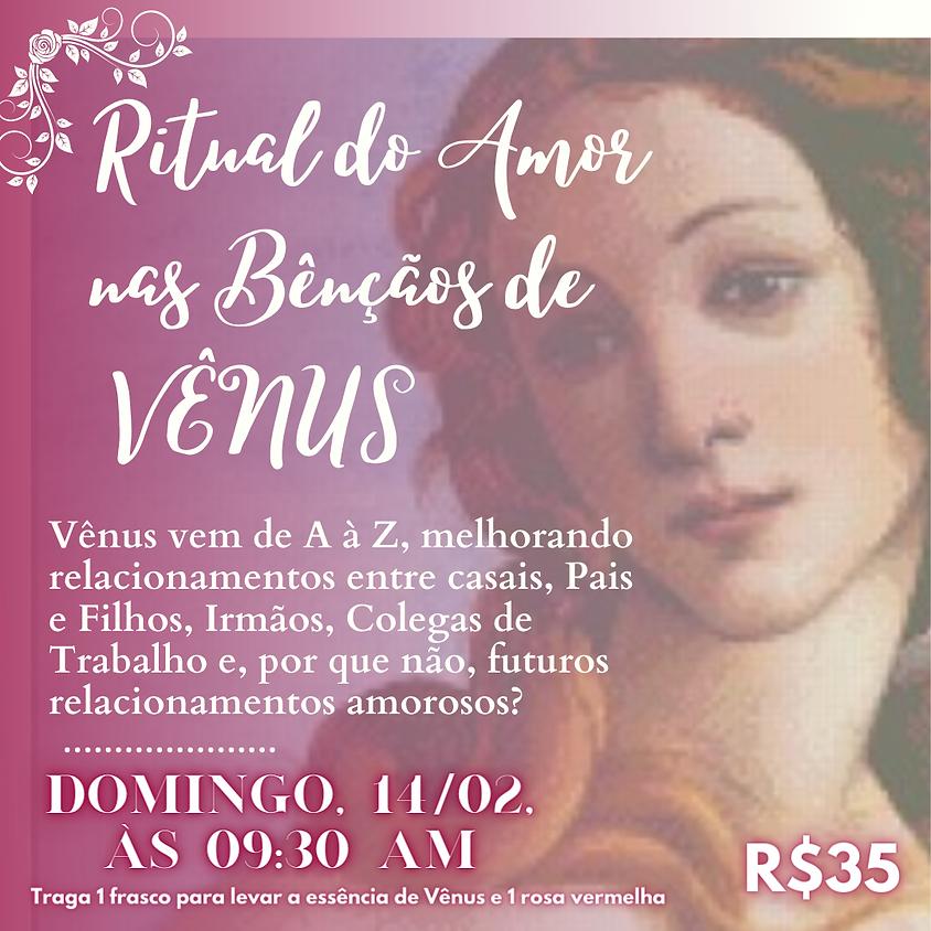 Ritual do Amor nas Bênçãos de Vênus