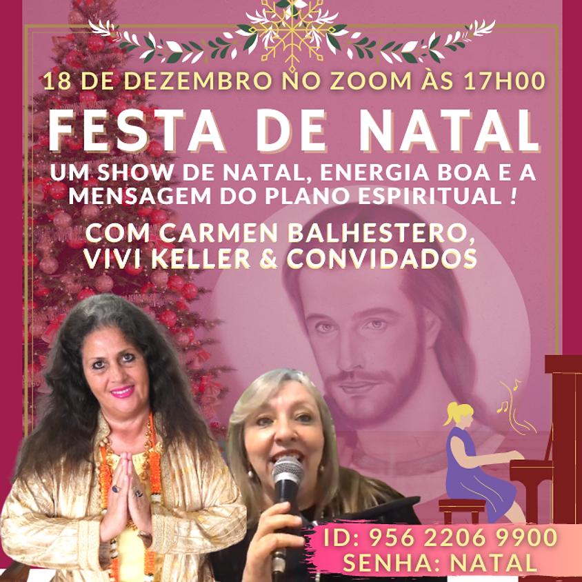 Celebração de NATAL DE RENASCIMENTO com Carmen Balhestero e Vivi Keller - Gratuito no Zoom.