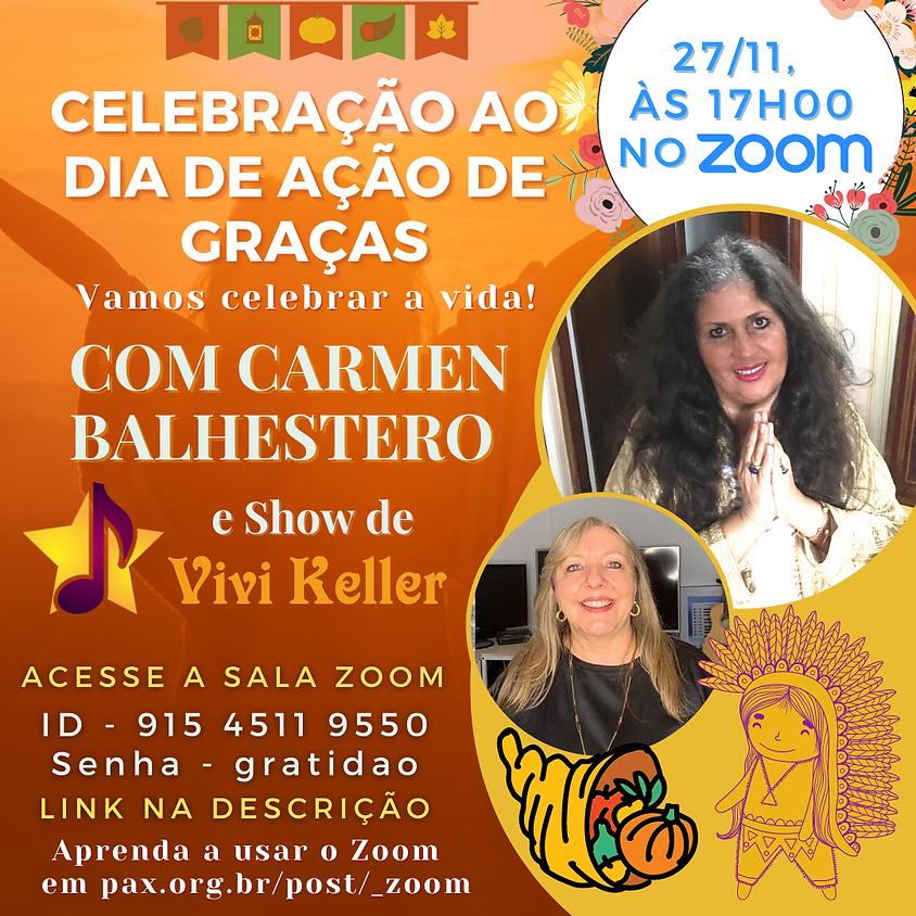Celebração ao Dia de Ação de Graças - com Carmen Balhestero e Vivi Keller (1)