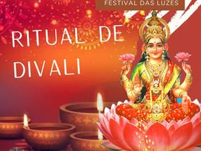 Ritual ao Divali - Festival das Luzes  de LAKSHMI