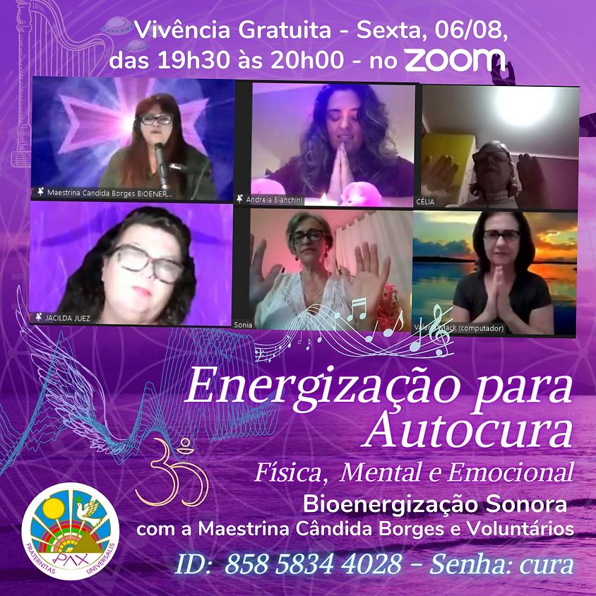 Energização de Autocura Física, Mental e Espiritual com Maria Cândida Gouveia Borges