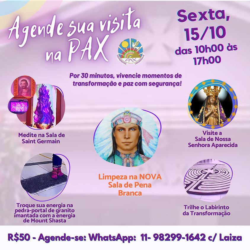 MEDITAÇÃO PRESENCIAL NA SEDE DA PAX
