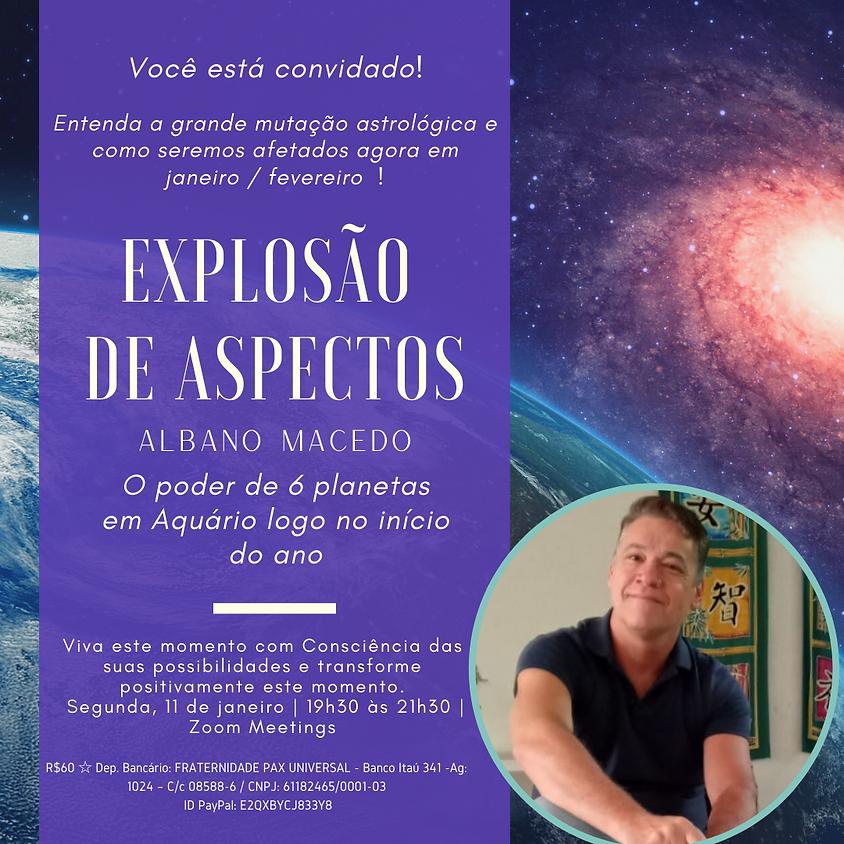 Vivência Astrológica com Albano Macedo