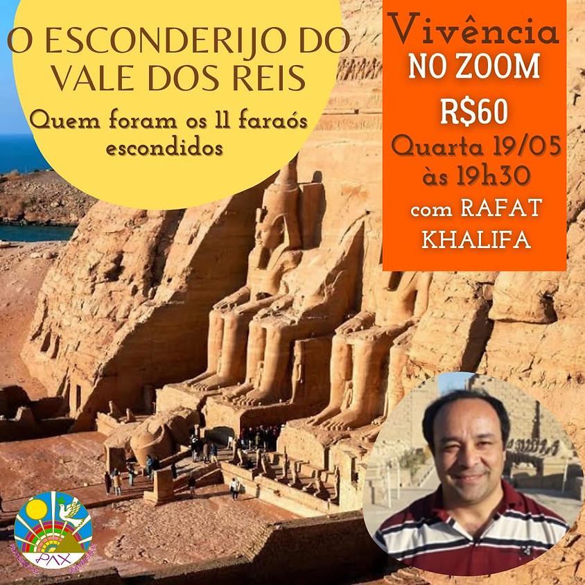 O ESCONDERIJO DO VALE DOS REIS - COM O EGIPTÓLOGO RAFAT KHALIFA
