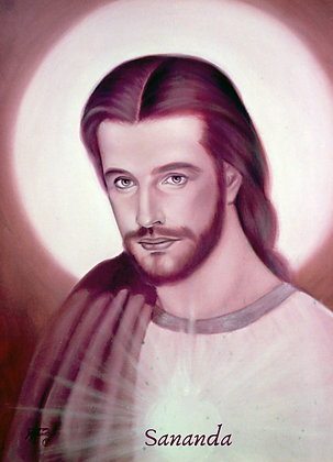 Gravura 13X18 - Mestre Jesus Sananda