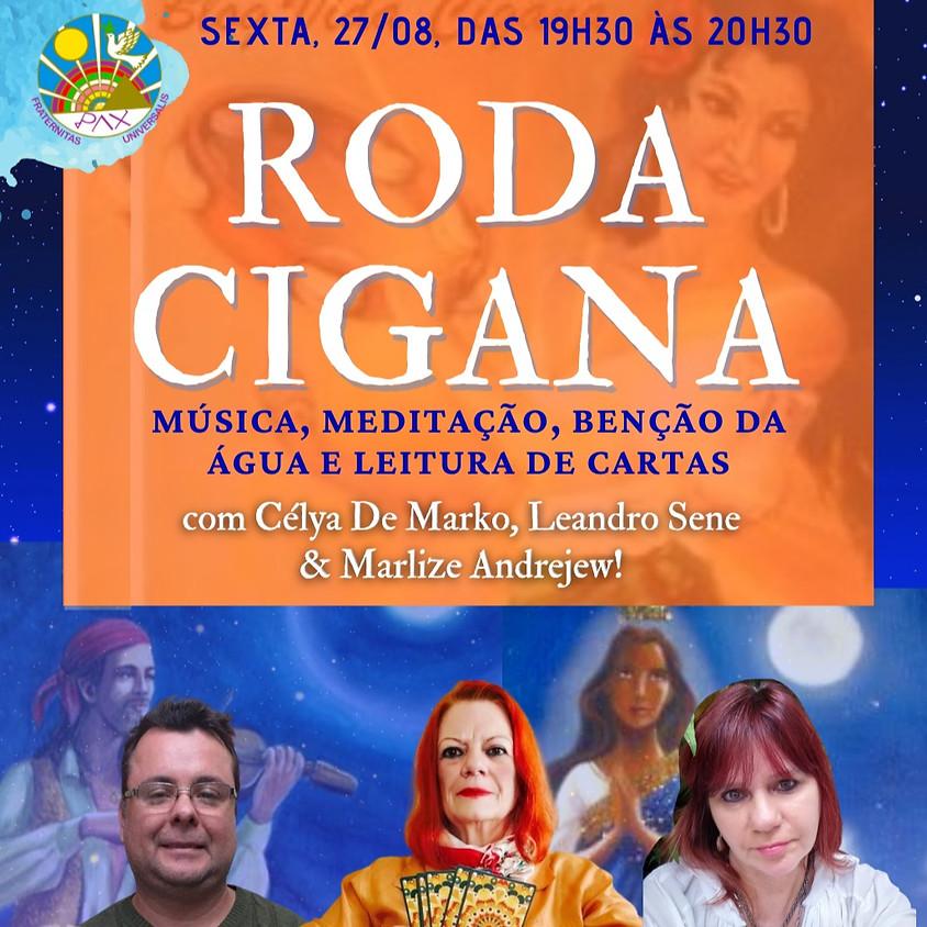 Roda Cigana - Celebração Gratuita no Zoom da Pax - Medite, Reze e Participe da Leitura de Cartas