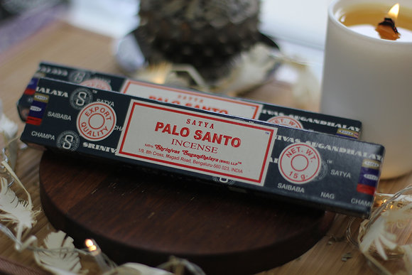 Incenso Palo Santo Satya