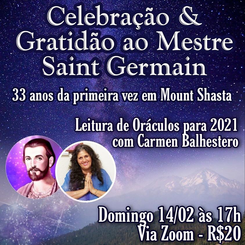 Celebração & Gratidão ao Mestre Saint Germain-33 em Mount Shasta