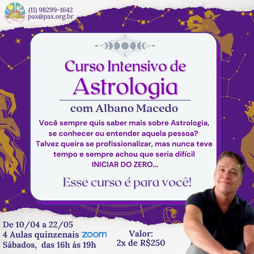 Curso de Astrologia Intensivo com Albano Macedo