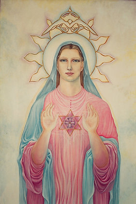 Gravura 13X18- Mãe Maria