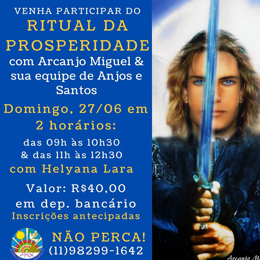 Ritual da Prosperidade nas Bençãos de Arcanjo Miguel e Sua Equipe de Anjos e Santos - com Helyana Lara