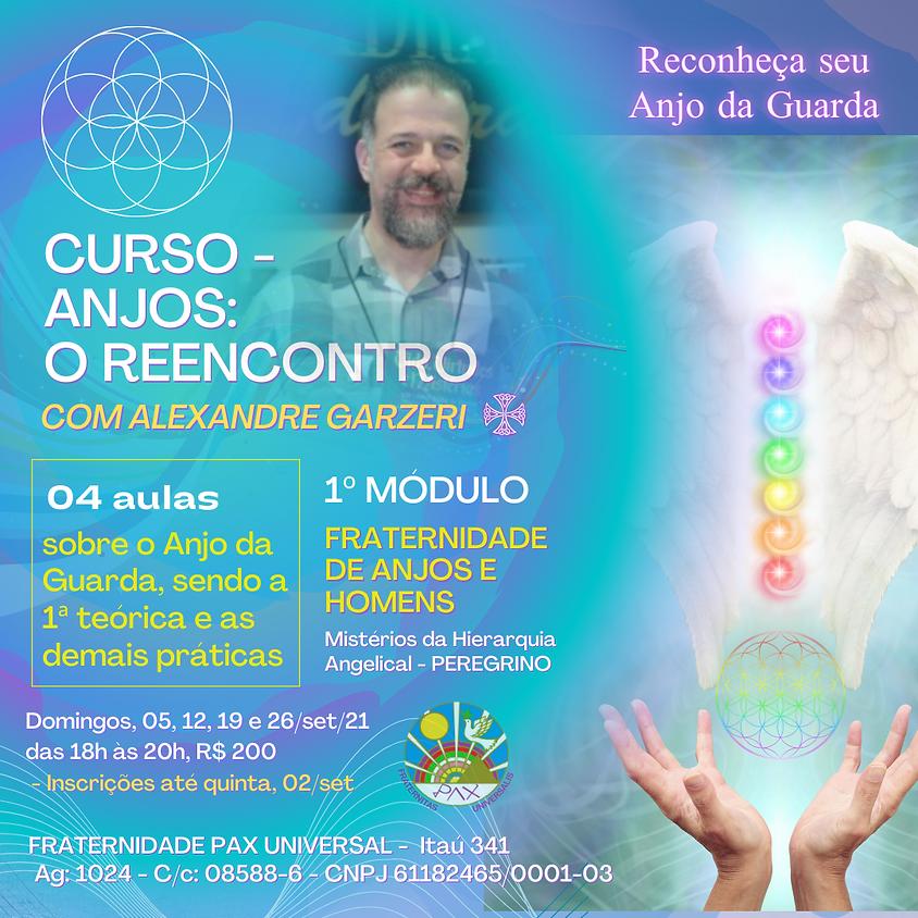 Curso: Anjos - O Reencontro - com Alexandre Garzeri online