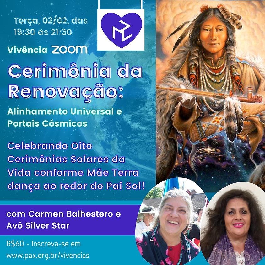 Cerimônia de Renovação - com Carmen Balhestero e Silver Star