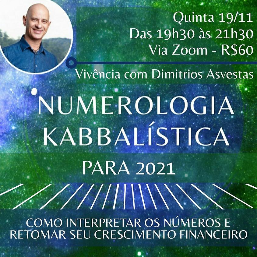 Vivência: Numerologia Kabbalística para 2021 - com Dimitrios Asvestas